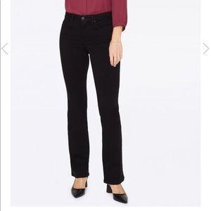 NYDJ Barbara Bootcut black jeans